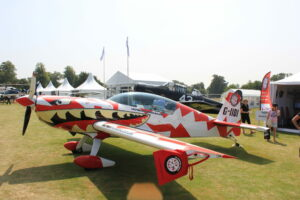 Book an aerobatic flight experience