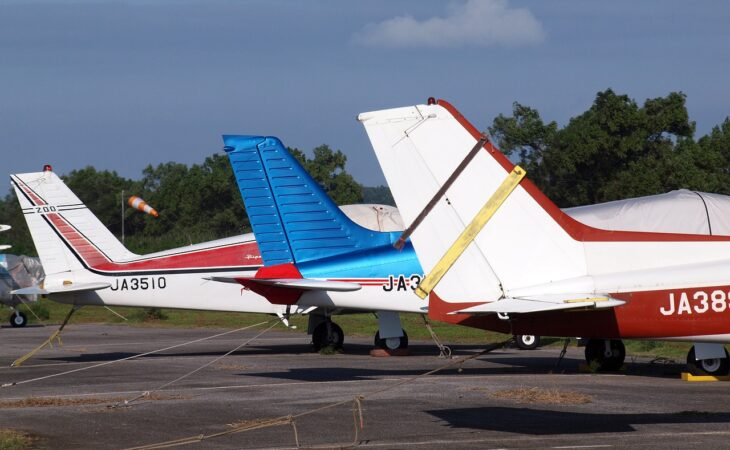Light aircraft tails