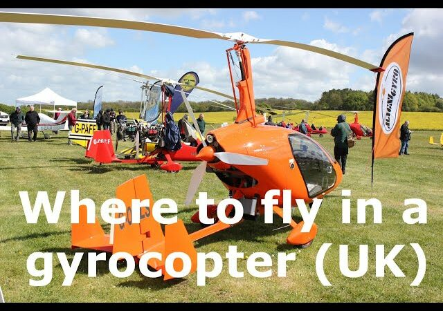 Where can I fly in a gyrocopter