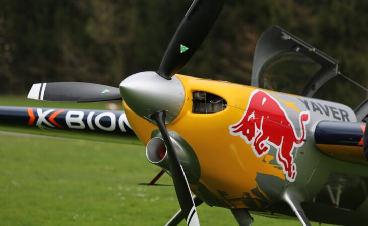 Red Bull close up