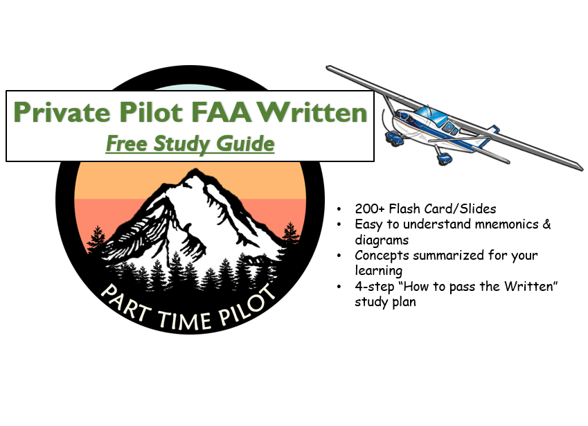 100% free study guide available at Part Time Pilot.